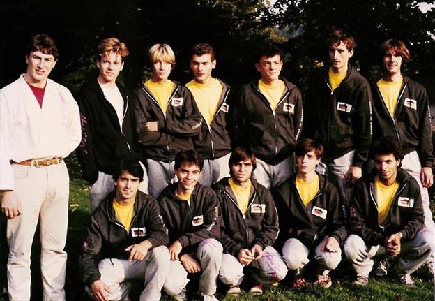 La tenue de l'équipe de France 1984